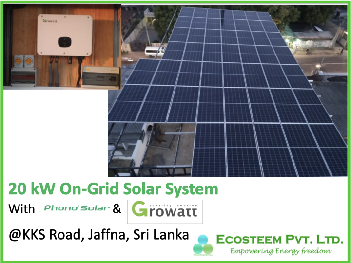 20kW Ecosteem Solar Solution @ MultiFarm